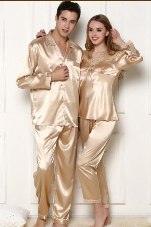 Matching Couple Pajamas To Wear This Winter With Your Other Half 1
