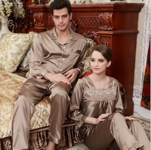 Boyfriend And Girlfriend Matching Pajamas 1