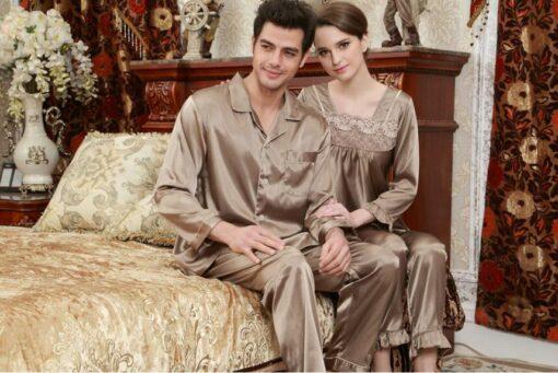 Boyfriend And Girlfriend Matching Pajamas 4