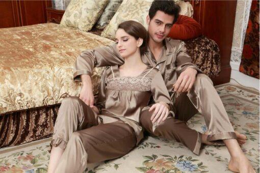 Boyfriend And Girlfriend Matching Pajamas 6