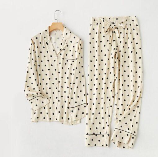 Ploka Dots Pajamas Set 7